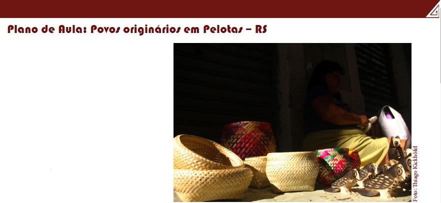Povos Originários em Pelotas/RS
